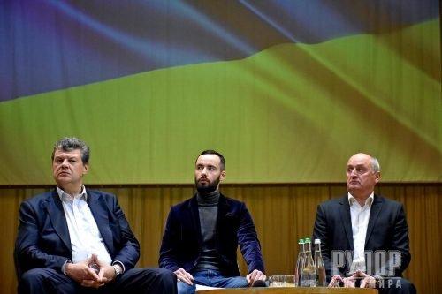 У Житомирі Міністр оборони Андрій Загороднюк роз'яснив, як відбуватиметься процес мирного врегулювання в Україні