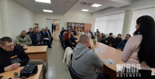 Шість підприємств пропонували роботу на ярмарках вакансій у Житомирі
