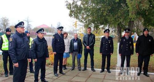 У Попільнянському районі Житомирщини запрацювала поліцейська станція