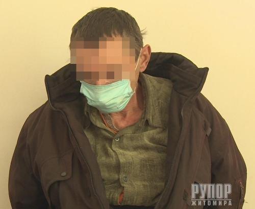 Коростенські поліцейські затримали нападника на літню пенсіонерку