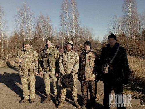 Житомирські прикордонники затримали в зоні ЧАЕС сталкерів з Кіровоградщини