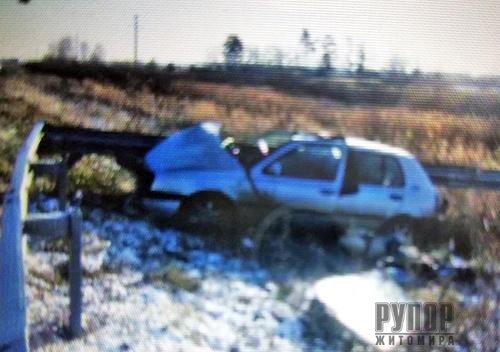 Фатальна ДТП: На Житомирщині загинув водій з Волинської області