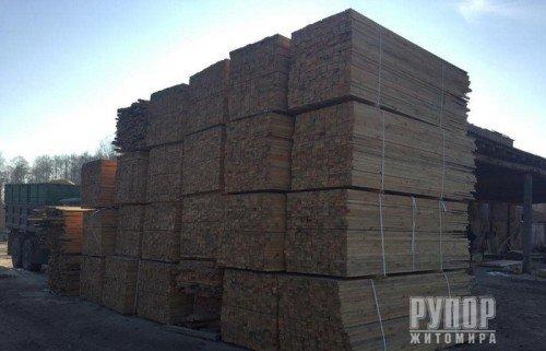 Нелегальний морський експорт деревини до Східної Азії на мільйони гривень блокувала СБУ в Житомирській області