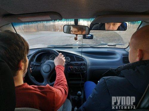 У Житомирі презентували відеофіксацію практичного іспиту на право керування