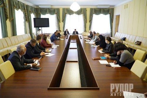ДП «Головинський кар'єр»: в обласній раді відбулось засідання робочої групи