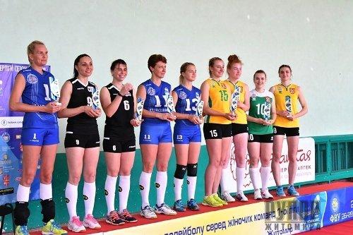 Жіноча комунальна волейбольна команда «Полісся ліцей-інтернат» - чемпіон Першості України