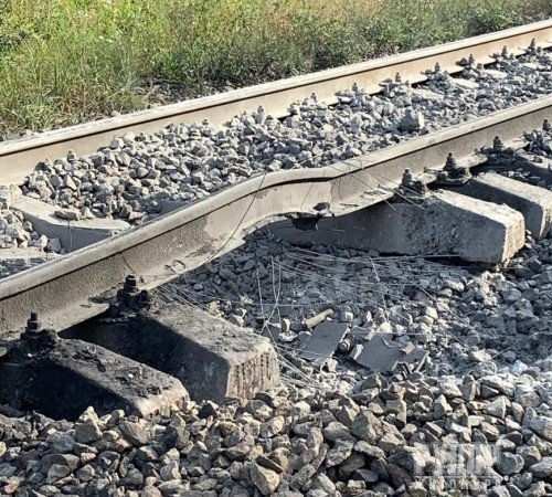 Терористичний акт на Житомирщині: СБУ розслідує факт спроби підриву потягу із вантажем паливно-мастильних матеріалів