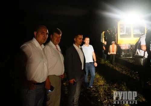 Тривають роботи з ліквідації наслідків теракту на Житомирщині