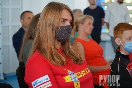 У Житомирі привітали спортсменів з професійним святом - Днем фізичної культури і спорту