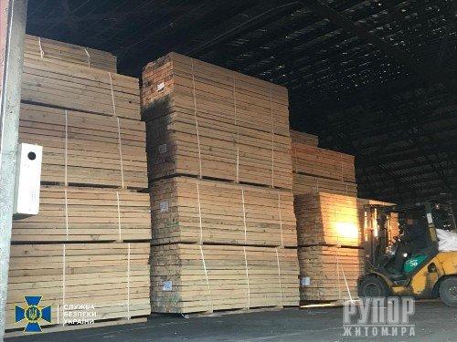 На Житомирщині СБУ викрила організоване угруповання на незаконному експорті деревини до Азії на мільйони гривень