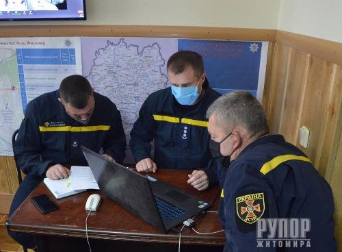 Поліція Житомирщини взяла участь у навчаннях з організації взаємодії правоохоронців під час виборчого процесу