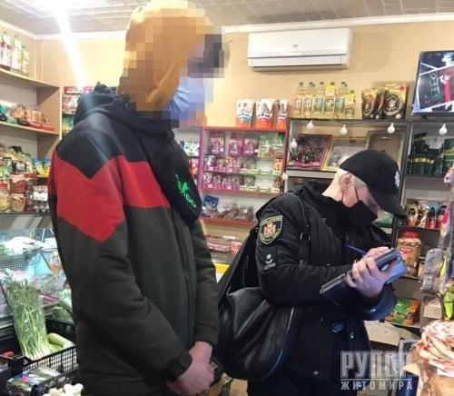 В Житомирськый області виявили чергові факти продажу алкоголю та тютюну неповнолітнім