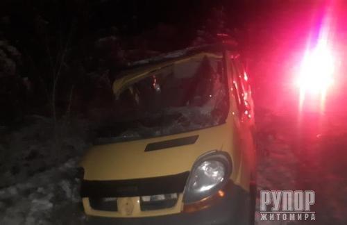 На Житомирщині - ДТП із загиблим та п'ятьма травмованими